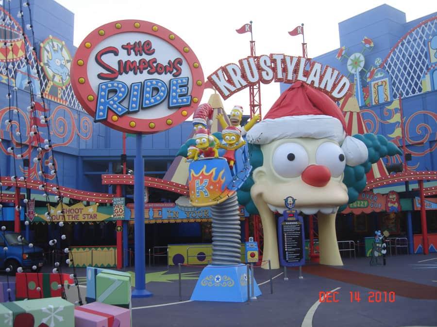 Experiential Simpsons Ride