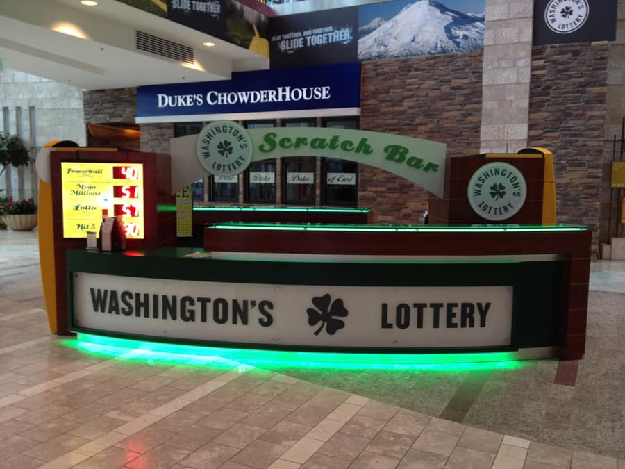 Washington Lottery Scratch Bar Creation