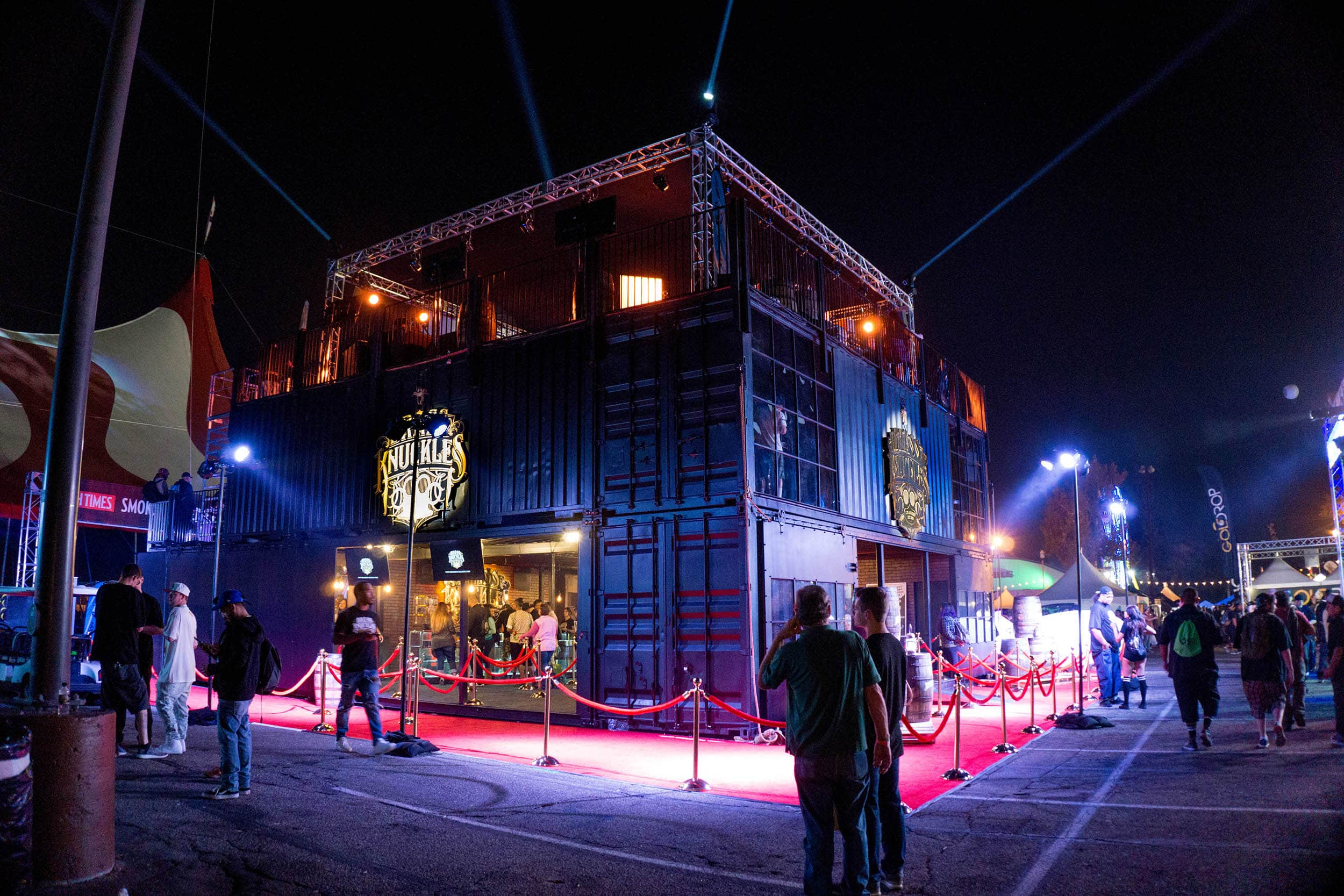 Modular Shipping Container Activation
