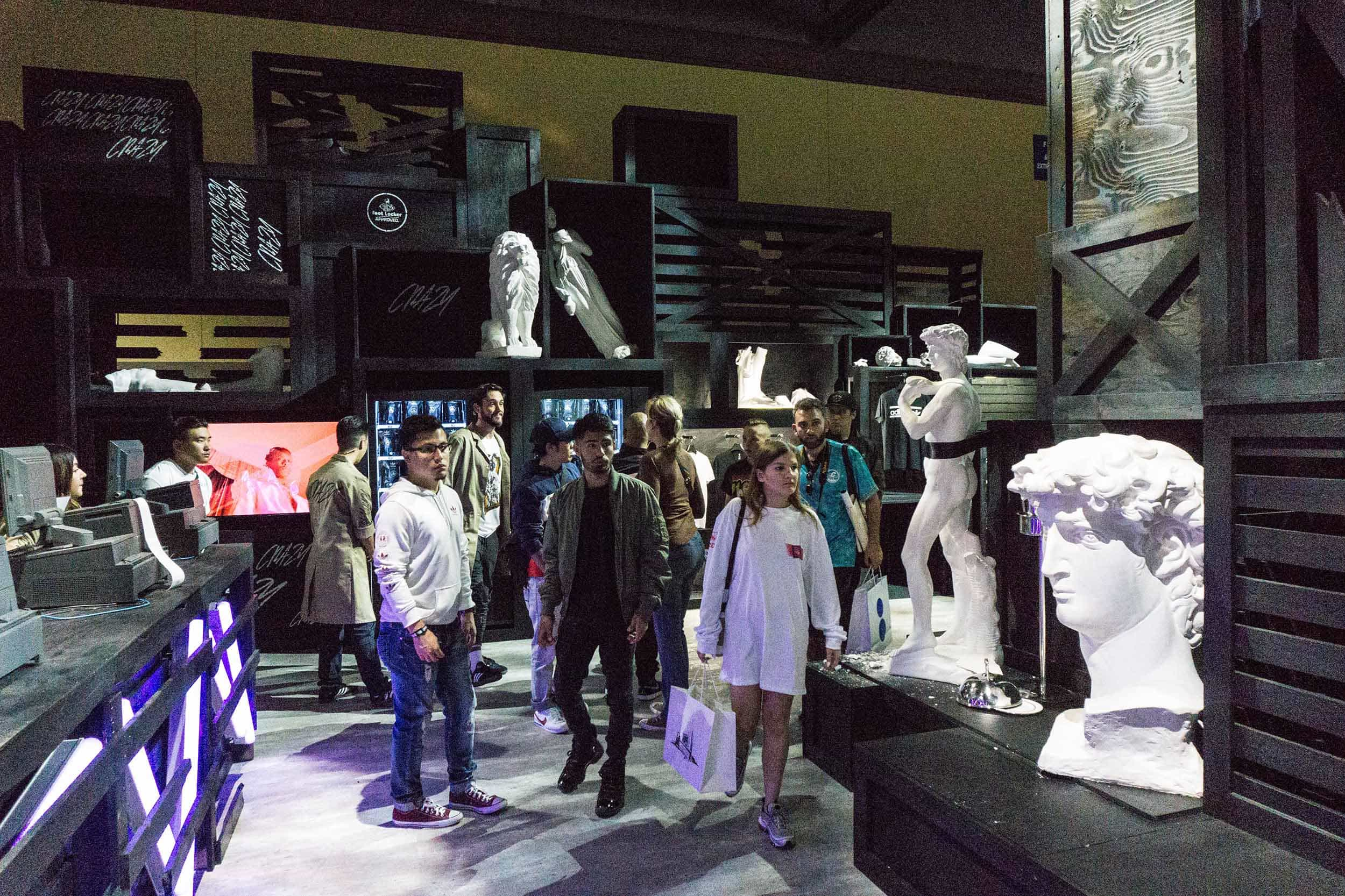 Crowd at Footlocker ComplexCon