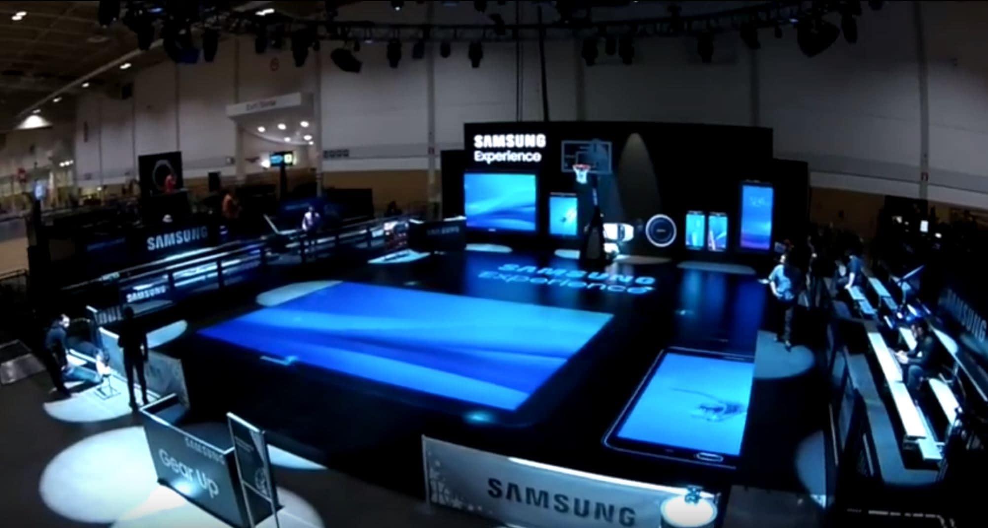 Samsung Trade Show Exhibit