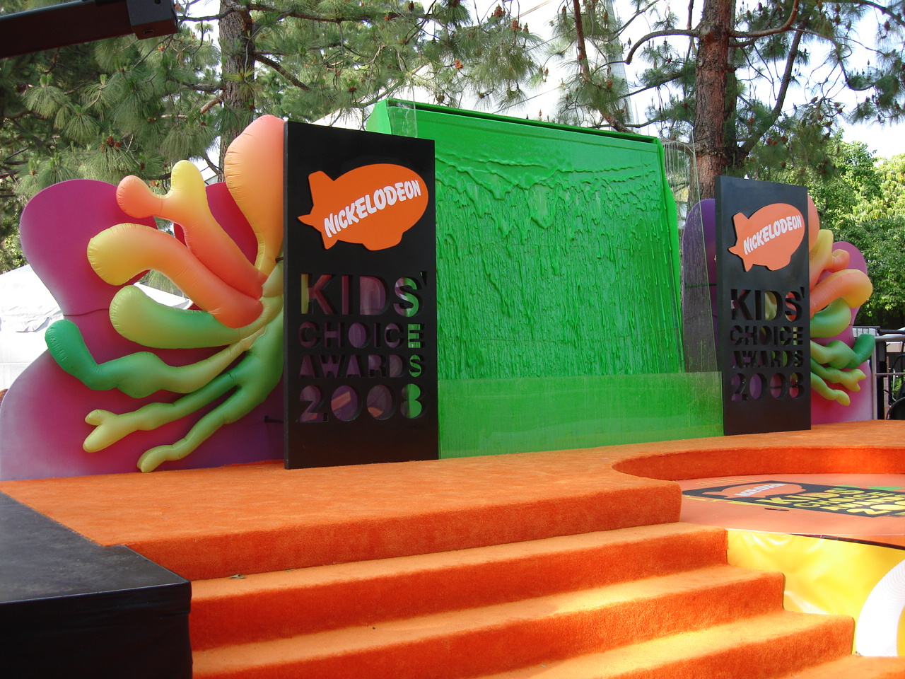 Kids Choice Awards 2008 Slime Wall