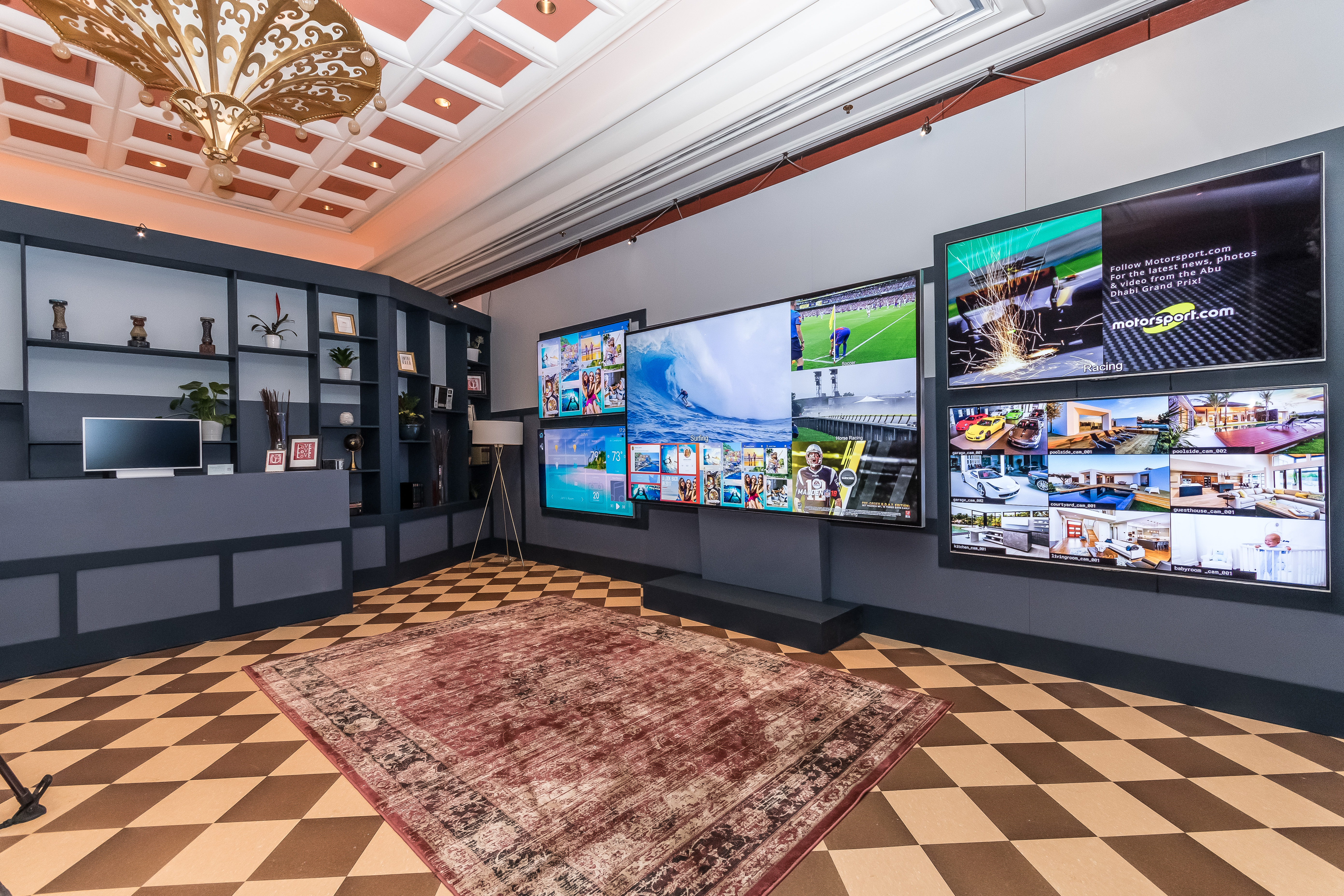 CES 2018 - SHARP Showroom at the Wynn Hotel