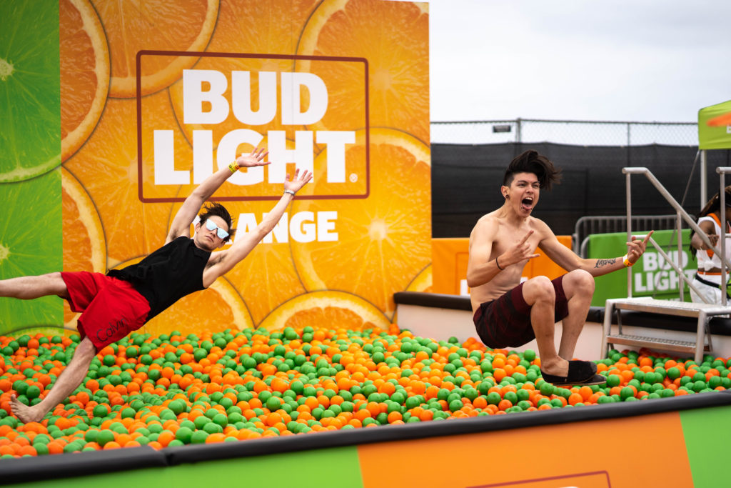 Bud Light Ball Pit