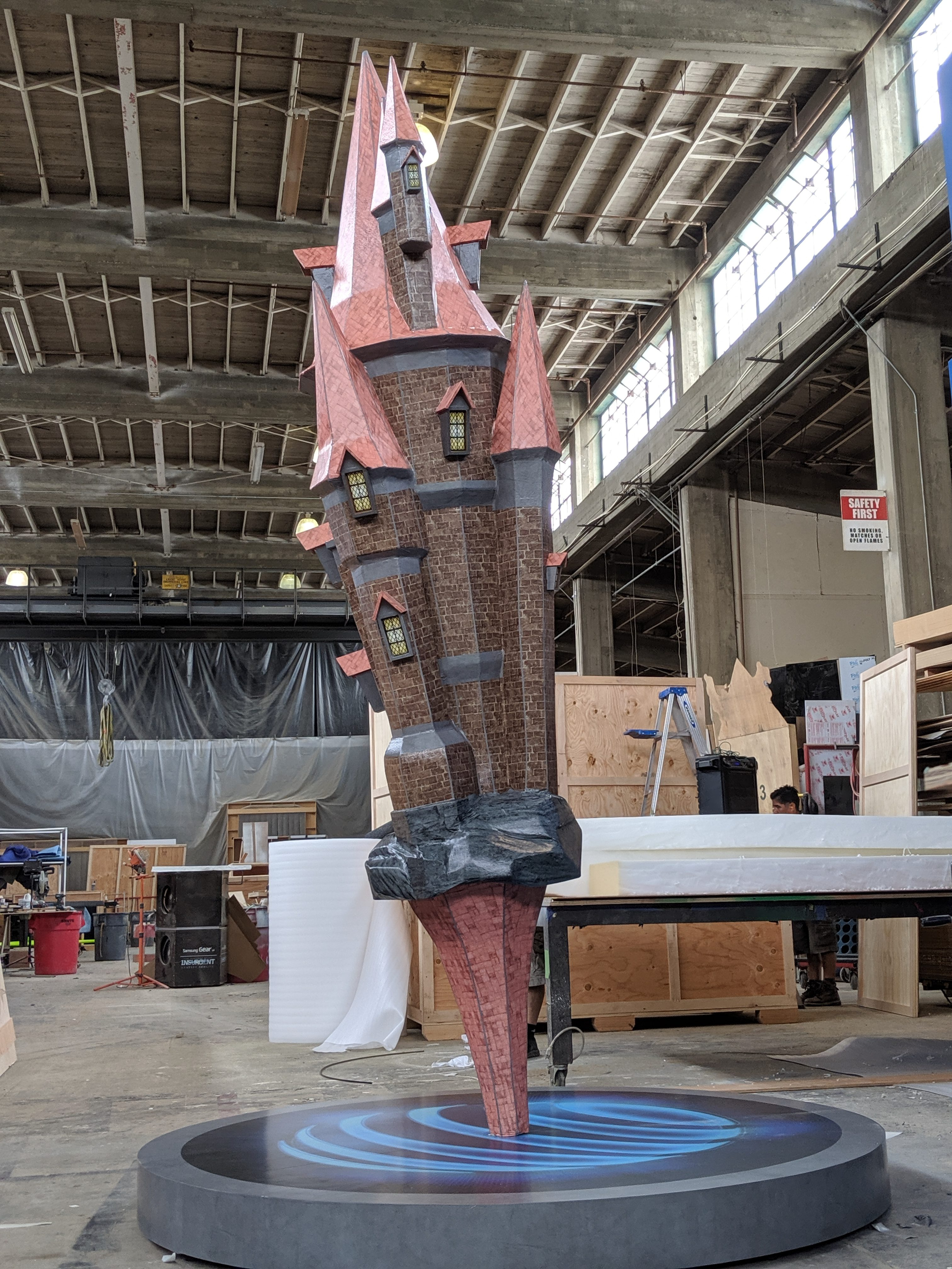 Giant Foam Castle Prop