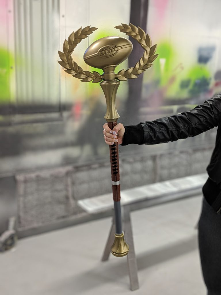 Fortnite Golden Pigskin Prop