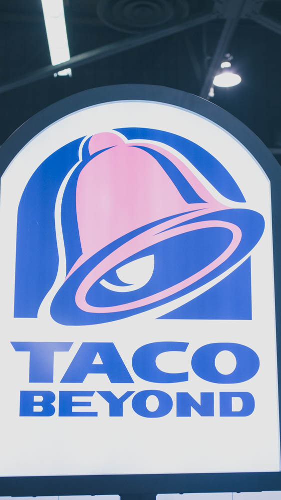 Taco Beyond Custom Lightbox Sign