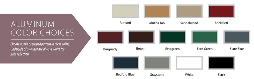 Futureguard canopy color choices