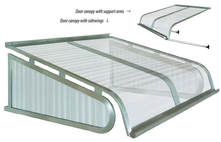 Futureguard door canopy