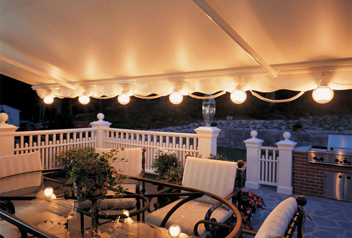 SunSetter retractable awnings from Sunspaces