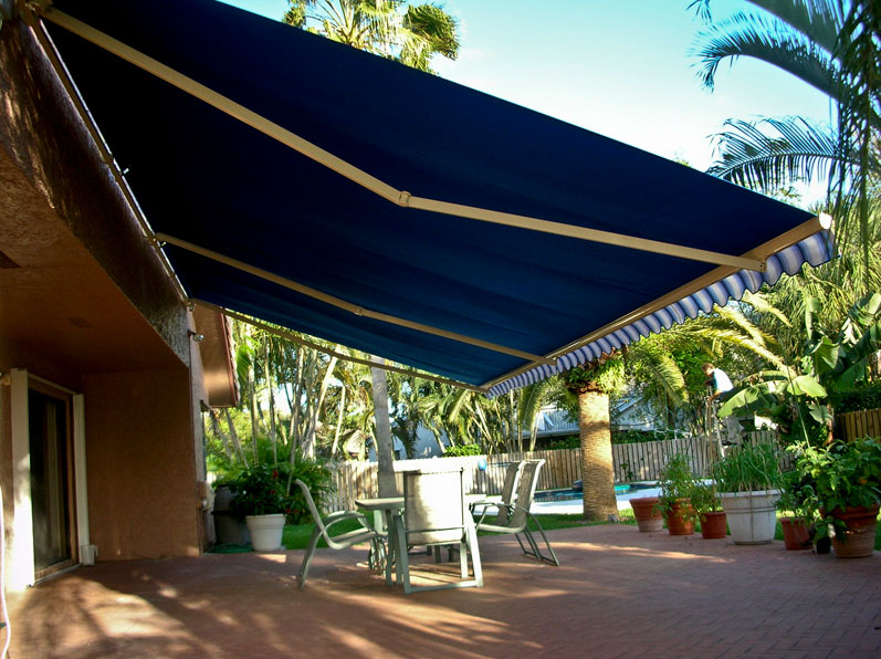 Sunesta patio and deck awning
