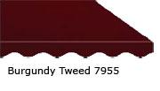 SunSetter Burgundy Tweed 7955