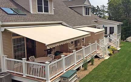 Browse Futureguard retractable awnings