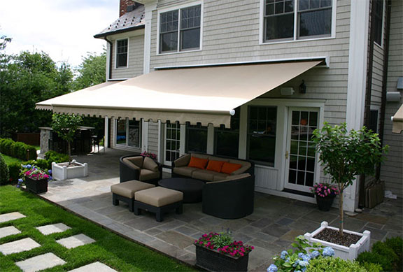 Browse our Futureguard retractable awnings