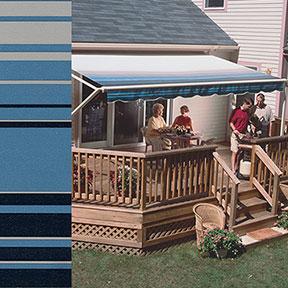 SunSetter Blue Stripe 2801
