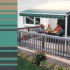 SunSetter Green Stripe 2804
