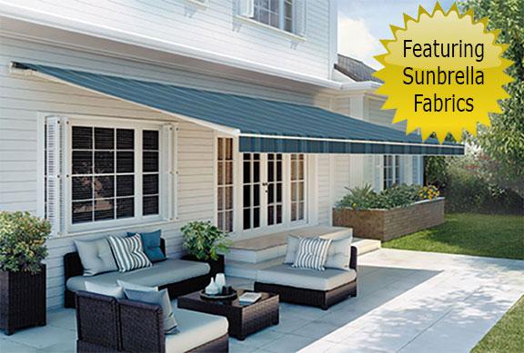 SunSetter Platinum series - featuring Sunbrella Fabrics