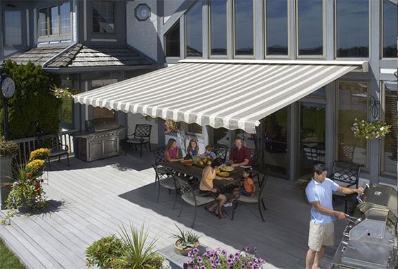 Browse our SunSetter retractable awnings