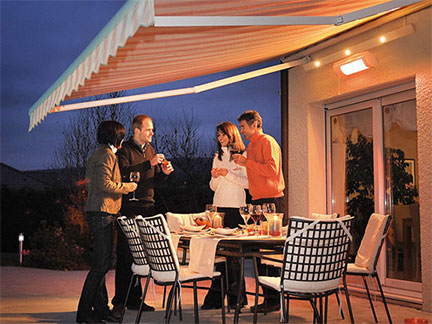 Browse our awnings accessories