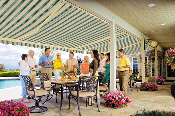 Browse our selection of retractable awnings