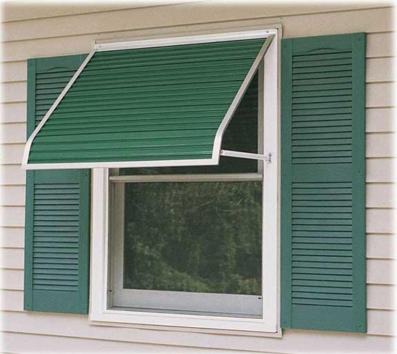 Futureguard window & door canopies - Aluminum and Fabric Awnings