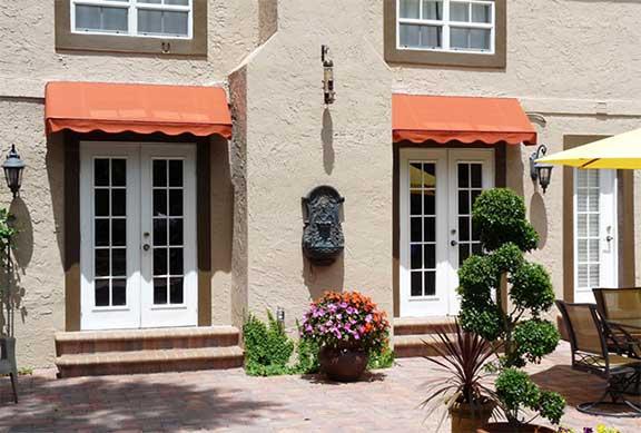 Sunesta fixed window & door awnings