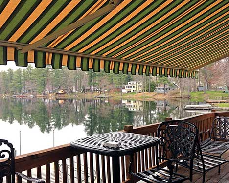Mr Awnings can recommend a manual or motorized awning to help you solve your sun or weather problem