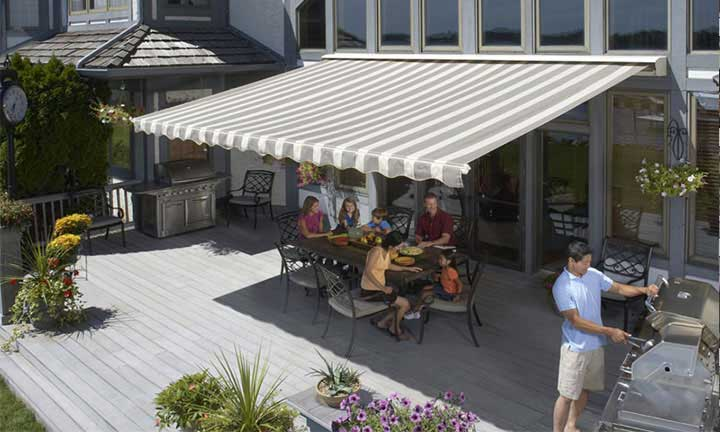 SunSetter Motorized and XL awnings