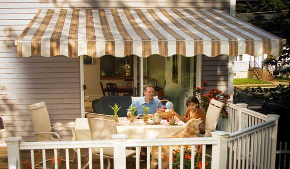 SunSetter awning selections