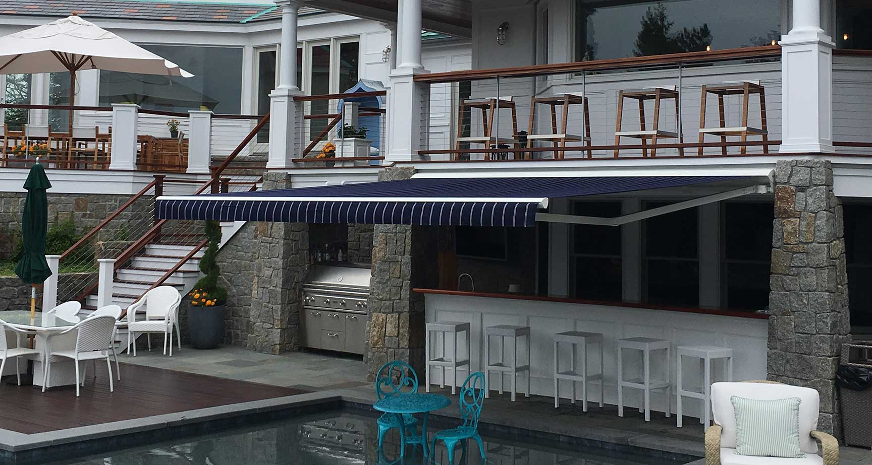 Mr Awnings installs retractable awnings in Massachusetts and New Hampshire
