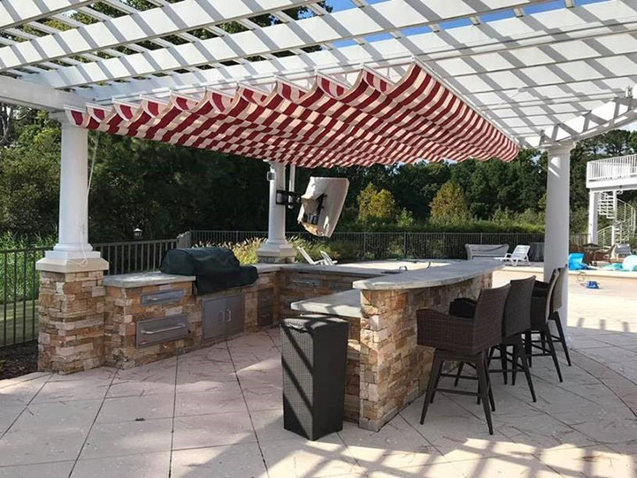 Aristocrat Canopies installed by Mr Awnings