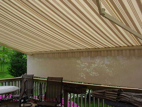 The importance of maintaining your awning