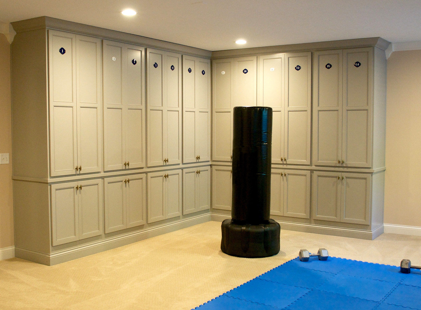 Workout Room Lockers