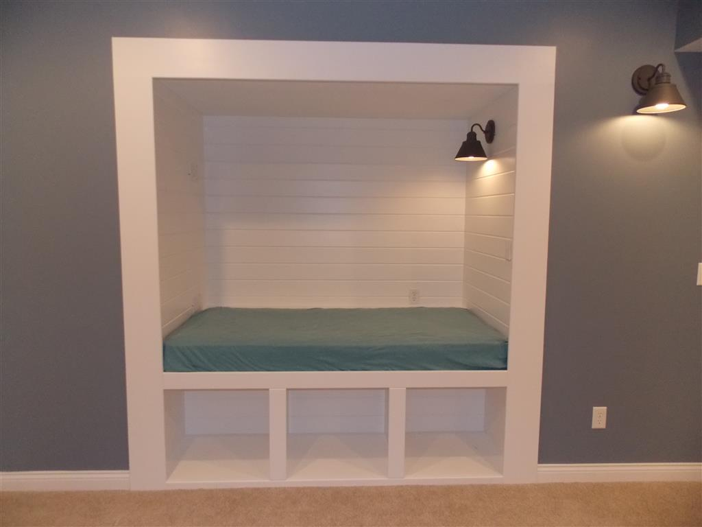 Reading Nook with Storage Cubes