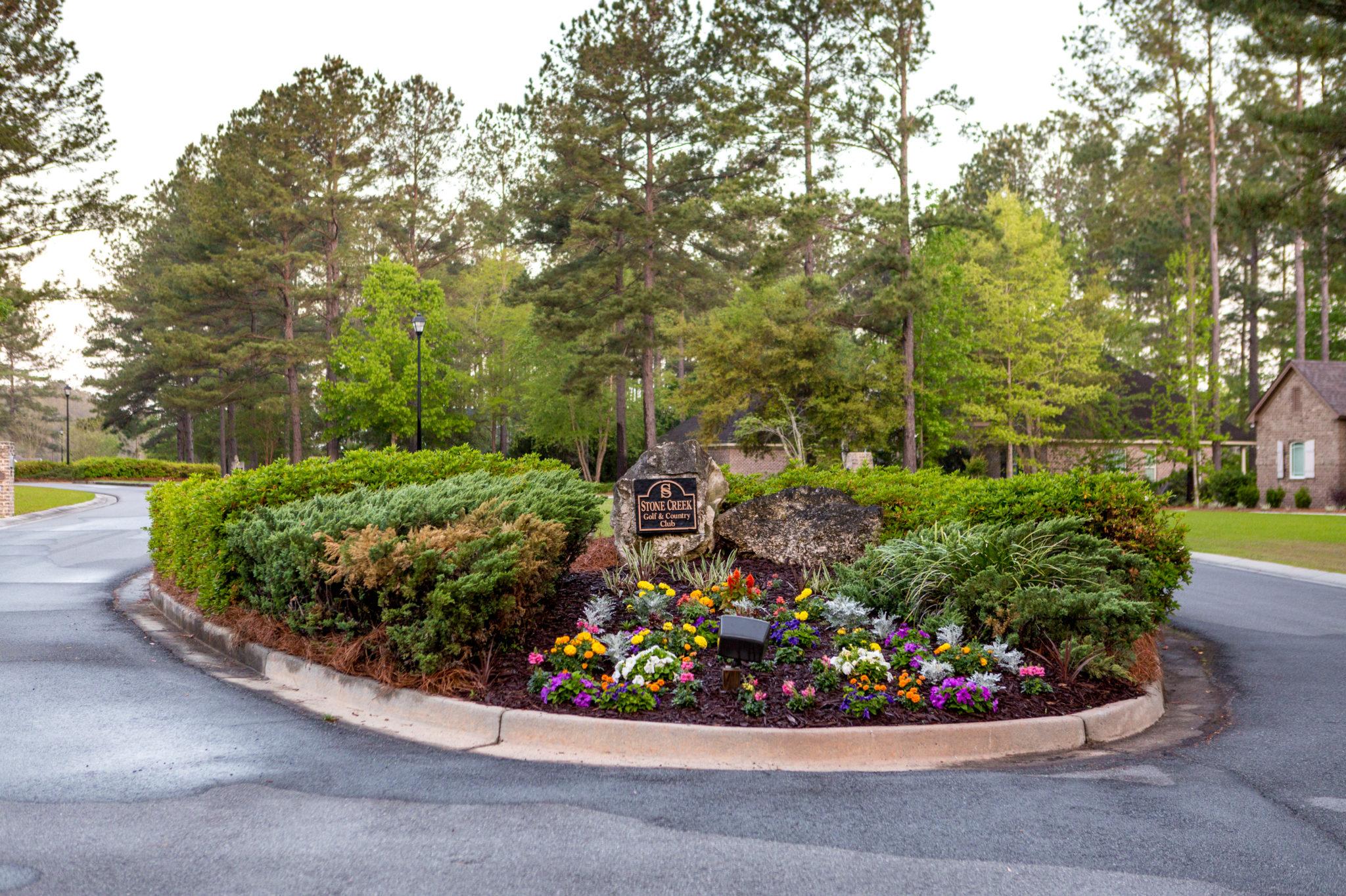 stone creek golf club entrance