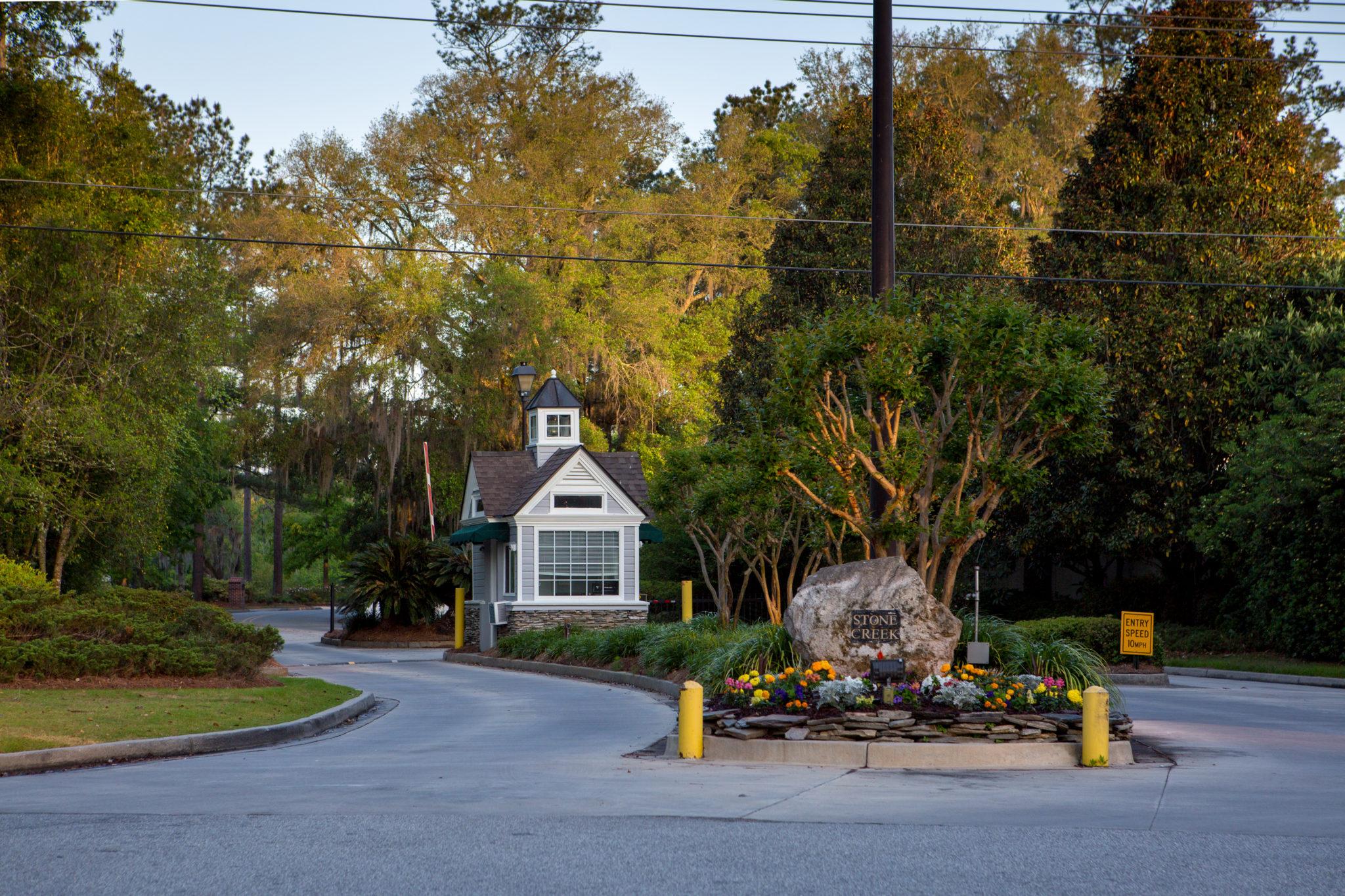 stone creek gates entrances