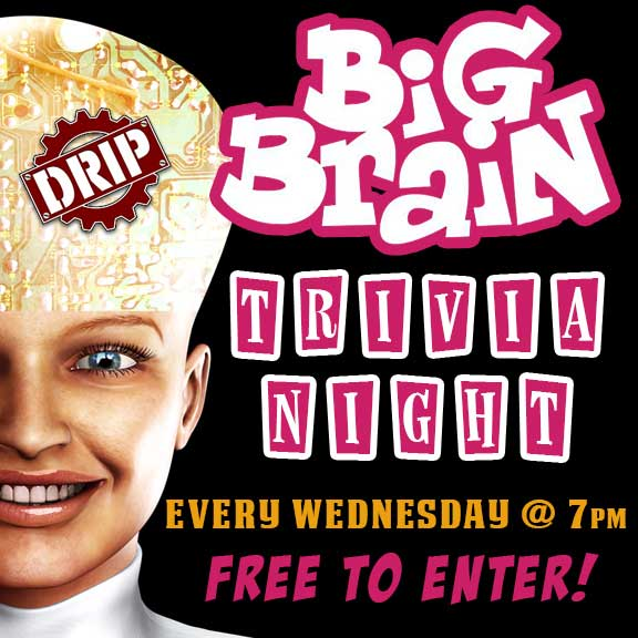 Big Brain Trivia Night