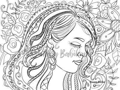Adult Coloring Carrie