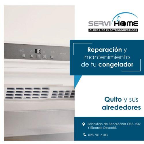 reparacion y mantenimiento de tu congelador