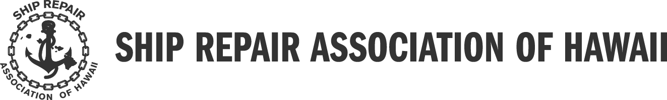 Ship Repair Association of Hawaii logo, SRAH logo