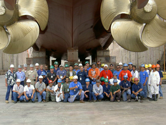 Ship Repair Association of Hawaii, SRAH, Matsonia crew