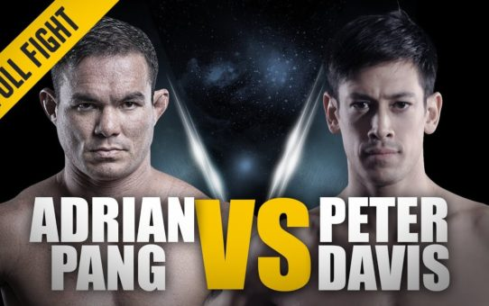 ONE: Full Fight | Adrian Pang vs. Peter Davis | A Stunning Victory | October 2015