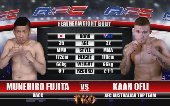 AFC 18 – Munehiro Fujita Vs Kaan Ofli