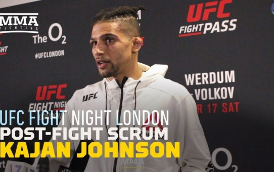 Kajan Johnson Takes 'Issue' With How MMA Fans Treat Fighters – MMA Fighting