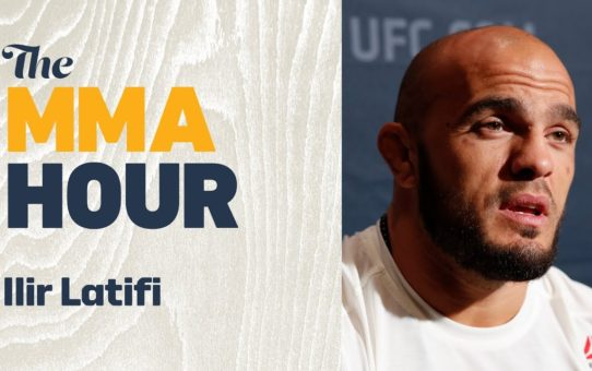Ilir Latifi Talks Win Over Ovince Saint Preux, Title Contention at Light Heavyweight