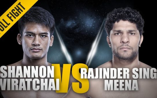 ONE: Full Fight | Shannon Wiratchai vs. Rajinder Singh Meena  | 29-Second Knockout | August 2017