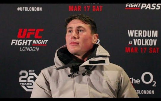 Darren Till: 'This Has Been a Dream of Mine for Years' – MMA Fighting
