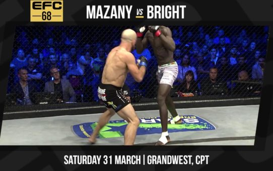 EFC 63 Mazany vs Gorimbo Highlights