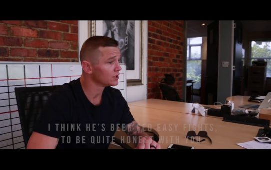 EFC 68 Im Just Being Honest – Martin van Staden