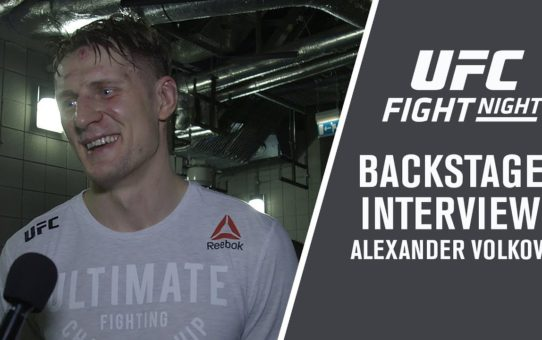 Fight Night London: Alexander Volkov – 'This Is The Biggest Win of My Career '